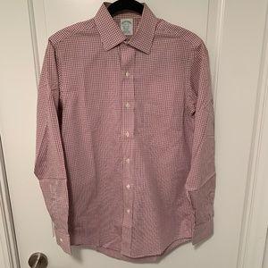 Mens Brooks Brothers Wrinkle Free Milano Shirt
